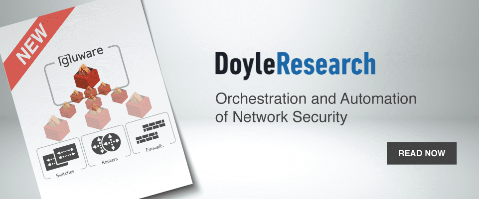 Doyle Research Network Security Orchestration