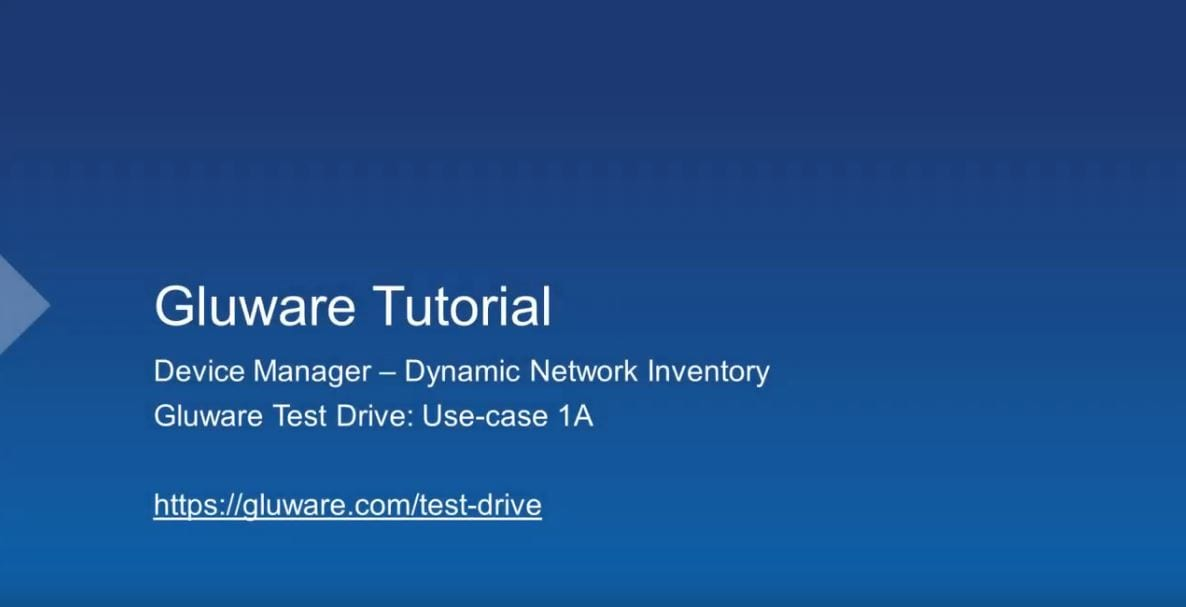 Gluware Device Manager 1
