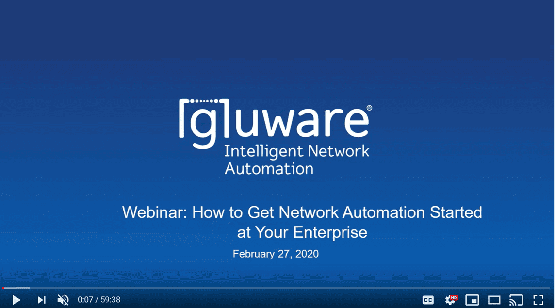Event Videos - Webinar 022720 How to Get Network Automation Started thumbnail 1