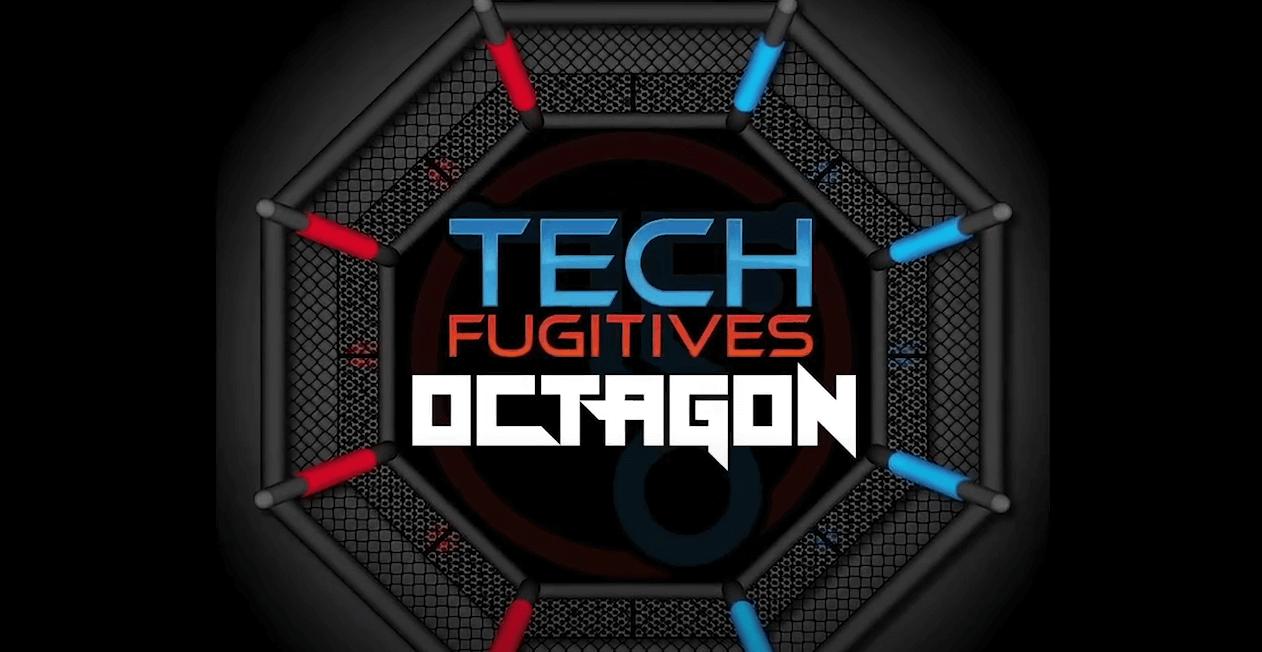 Tech Fugitives | The Octagon - Gluware Episode - Octagon logo