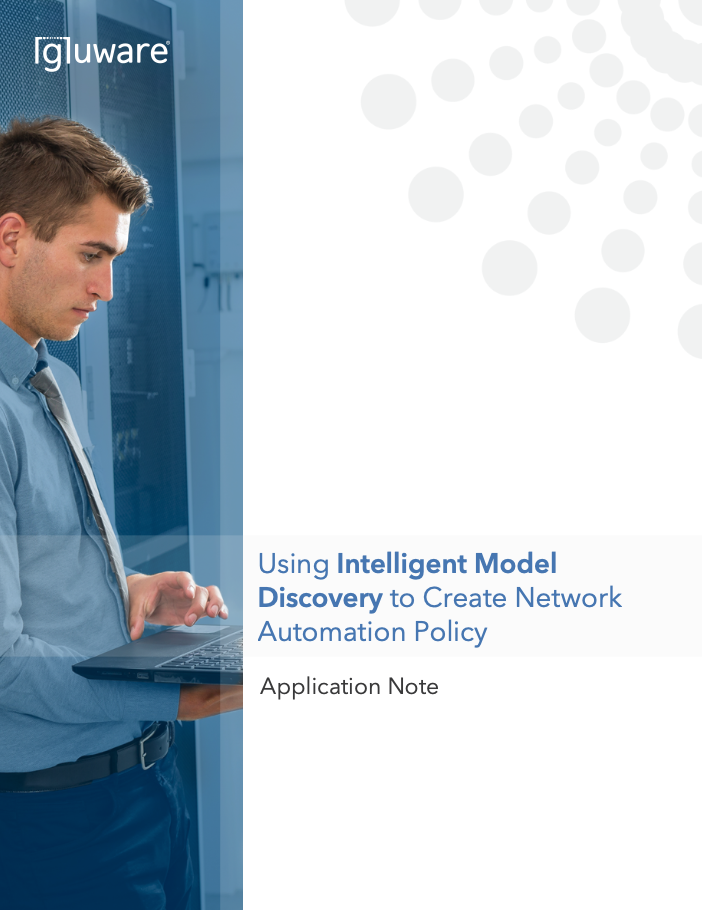 Brownfield Network Automation - intelligent model discovery